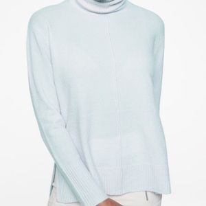 Athleta Cashmere Turtleneck Sweater